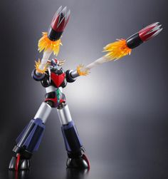 Super Robot : UFO Robo Cool figure to be released next June, with a whole range of special effects. Old Cartoon Movies, Old Cartoons, Cool Robots, Cool Toys, Goodies Manga, Transformers, Robot Cartoon, Japanese Robot, Metal Robot