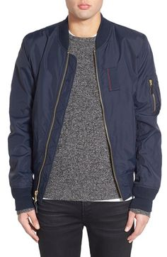 Free shipping and returns on Alpha Industries 'Skymaster' Lightweight MA-1 Bomber Jacket at Nordstrom.com. Alpha Industries has made their name in recreating military-issue jackets for the urban civilian. This lightweight nylon MA-1 bomber jacket comes equipped with all the classic details, including an on-sleeve utility pocket, to launch your style into the stratosphere.