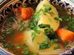 Shurpa. Rich Uzbek soup. Recipes of cooking shurpa