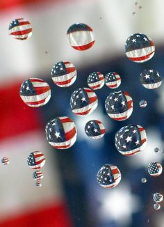 Red, white and blue by The Unpredictables, via Flickr
