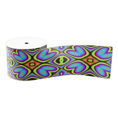 A colorful and trendy pattern the give the product a stylish and modern looks with this decorative and abstract looks. You can also customize it to get a more personal look. Ribbon Design, Grosgrain Ribbon, Abstract Pattern, Customized Gifts, Create Your Own, Colorful, Shapes, Texture, Stylish