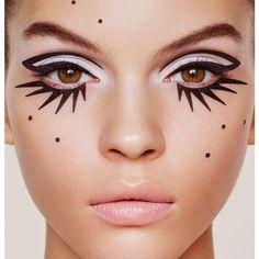 24 New Ideas diy makeup recipes eyeliner make up Makeup Inspo, Makeup Art, Makeup Inspiration, Beauty Makeup, Eye Makeup, Hair Makeup, Makeup Ideas, Witch Makeup, Skull Makeup