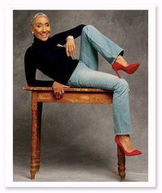 Millie Cruzat...age 77. (Model)