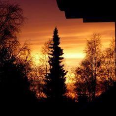 #auringonlasku  #sunset #jouluaatto 24.12.2014 #YuleEve #Yule #Yule2015 #Joulu #joulu2015 #lapland #Finland #nofilter #noPhotoshop #ylesaa #mtvsaa