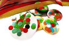 Buttons - Konfetti Button - ein Designerstück von Kirschblueten-Tsunami bei DaWanda