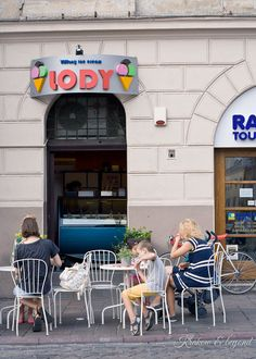 A few off beaten path places to visit around Old Town in Krakow - those ice creams are one of them