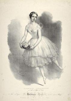 Fanny Cerrito nel ballo La Silfide