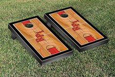 Rensselaer Polytechnic RPI Engineers Cornhole Game Set Basketball Court Version -- Read more  at the image link.