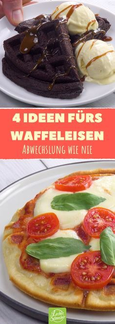 You underestimate your waffle iron! Our video evidence: - essen - Pfannkuchen Waffle Iron Recipes, Best Pancake Recipe, Snacks, Cakes And More, Finger Foods, Love Food, Food Porn, Food And Drink, Yummy Food