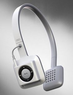 ODDIO1 Cord-Free Headphones for iPod Shuffle 4G