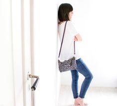 Leopard Crossbody Bag, Leopard Shoulder Bag, Cheetah Crossbody Purse with…
