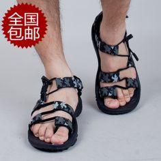 Taobao  vento vietnamese shoes outdoor men sandals casual male mens sandals flip sandals genuine china english wholesale