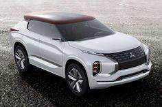SUV híbrido GT PHEV Concept será mostrado pela Mitsubishi.  Leia mais...