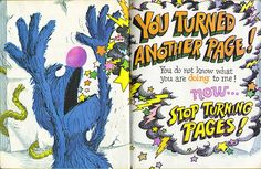 Love Grover...and LOVE LOVE LOVE this book! I still have it and crack up everytime I read it!