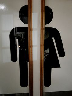 10 Jan: Loving these toilet door signs by annettescamera, via Flickr