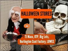 Halloween Decorations 2016: TJ Maxx, Old Time Pottery, Big Lots...