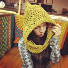 Hey, I found this really awesome Etsy listing at http://www.etsy.com/listing/167935111/handmade-crocheted-hooded-cowl-womens
