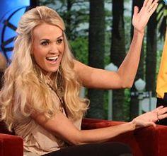 Carrie Underwood showed up on The Ellen DeGeneres Show Wednesday May 9 ...