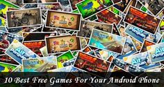 10 Best Free Games For Your Android Phone