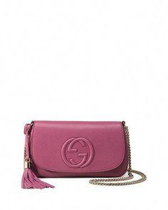 1d218fa2fe655 V2H29 Gucci Soho Medium Crossbody Bag
