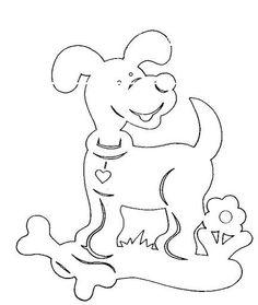 вытынанки - Самое интересное в блогах Paper Cutting Patterns, Stencil Patterns, Glass Painting Designs, Paint Designs, Diy And Crafts, Paper Crafts, Cut Animals, Scroll Saw Patterns, Dog Pattern