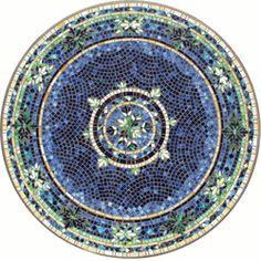 Lake Como Mosaic