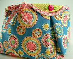 Fabric Basket PDF Sewing Pattern Tutorial ... with different variations included. $7,50, via Etsy.
