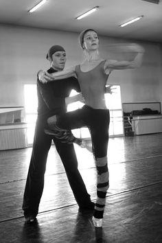 Alina Cojocaru and Johan Kobborg