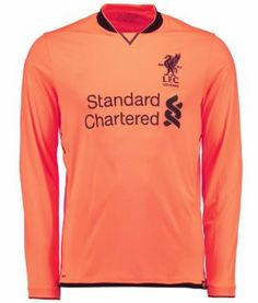 2017 Cheap Jersey Liverpool FC LS 3rd Replica Orange Shirt [AFC717]