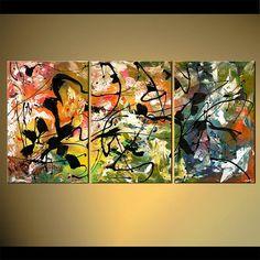 PINTURA por encargo - pintura abstracta moderna contemporánea Original por Osnat Como este es un cuadro hecho por encargo, se lo más cerca posible a la que ves aquí, que ya tengo venderá. Marco de tiempo para crear: 4-5 días laborables. Nombre de la pintura: Galaxia Tamaño: 72 x