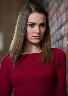 Anna Passey as Sienna Blake in Hollyoaks