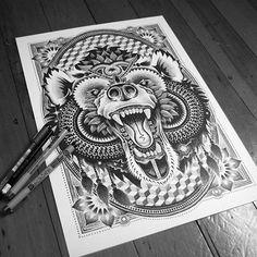 Área Visual - Blog de Arte y Diseño: Sneaky Studios. Increíbles dibujos a mano