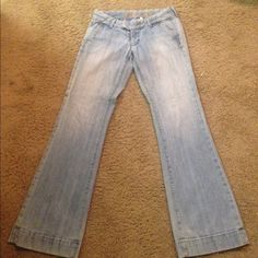 Abercrombie and Fitch trousers. The most comfortable and flattering trousers ever! Abercrombie & Fitch Jeans Flare & Wide Leg