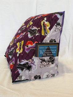 Wedge pillow perfect for propping up to read in bed!