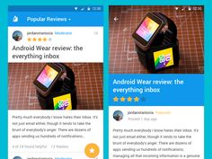 Android L Reviews by Jordan Staniscia