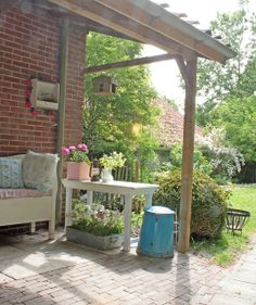 Garden by Martine à la Maison, via Flickr