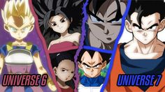 Universe 6 Saiyans vs Universe 7 Saiyans in Dragon Ball Super Discussion (===================) My Affiliate Link (===================) amazon http://amzn.to/2n6MagF (===================) bookdepository http://ift.tt/2ox2ryU (===================) cdkeys http://ift.tt/2oUpFex (===================) private internet access http://ift.tt/PIwHyx (===================) Cabba Kale and Caulifla vs Goku Vegeta and Gohan IS COMING in the Universal Survival Arc as we will see the battle of SIX SAIYANS…