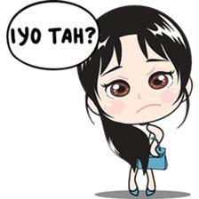 Fany, Surabaya girl – LINE stickers Line Store, Line Sticker, Love Drawings, Surabaya, Girl Humor, Islamic Art, Bff, Unicorn, Jokes