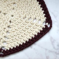 Stitch Dictionary - crochet the SOLID GRANNY SQUARE