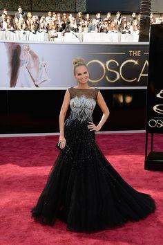 Todas las imágenes de celebrities y alfombra roja de los Oscars 2013: Kristin Chenoweth de Tony Ward