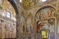 Certosa di Garegnano, questa sconosciuta. O meglio: nascosta. Sì, dall'autostrada. L'ultima che ci si aspetta di trovare in città è una Certosa.