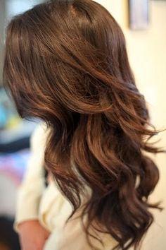 Uç Kısımları Açık,Gölgeli,Röfle Kahve/Kestane Saç Renkleri 2014
