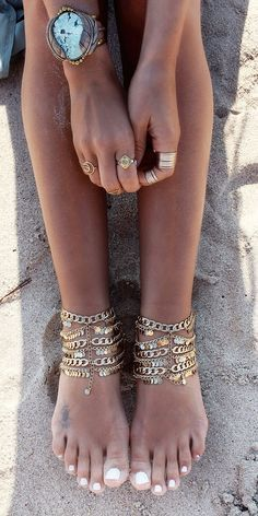 Women's Fashion : Body Jewelry - Anklet 252