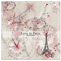 Oscraps :: Shop by Designer :: Dido Designs :: {love in Paris} notionSet with EXTRA by Dido Designs.