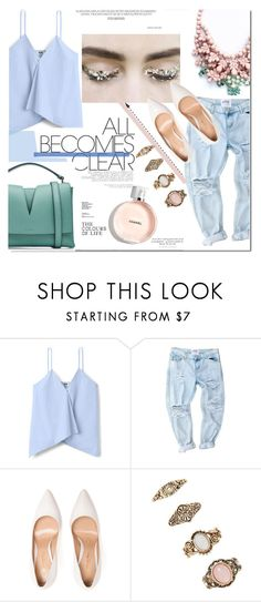 """All becomes clear"" by nastya-d ❤ liked on Polyvore featuring Ek Thongprasert, Gianvito Rossi, Forever 21 and Jil Sander"