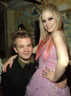 Pin for Later: 17 Old-School Celebrity Couples to Be For Halloween Avril Lavigne and Deryck Whibley