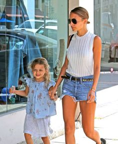 Harlow Madden, certified heart thief, hanging out with mom Nicole Richie. The Best Celebrity Kids of Summer 2013