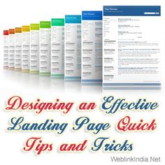 Designing an Effective #LandingPage: Quick Tips and Tricks