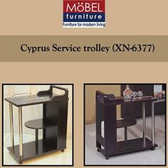 Simple and elegant service trolley in a classic look will add in to the style of your serving and will definitely grab you some great compliments.