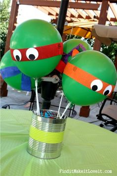 Teenage Mutant Ninja Turtle Birthday Party
